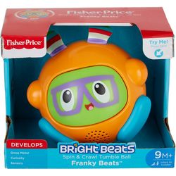 Fisher-Price Bright Beats Spin & Crawl Tumble Ball