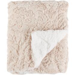 Chevron Faux Fur Baby Blanket