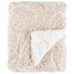 Solid Faux Fur Baby Blanket