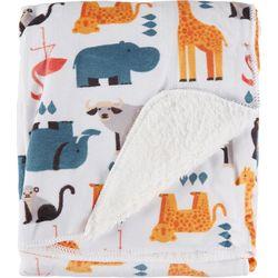 S.L. Home Fashions Zoo Fun Baby Blanket