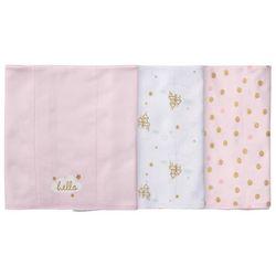 Gerber Baby Girls 3-pc. Princess Burp Cloth Set