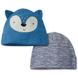 Baby Boys 2-pk. Fox Cap Set