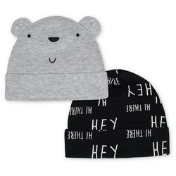 Baby Boys 2-pk. Bear Cap Set