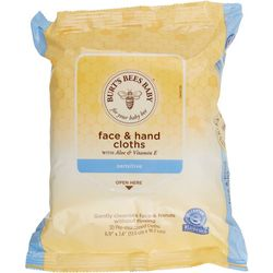 Burt's Bees Baby Sensitive Face & Hand Cloths