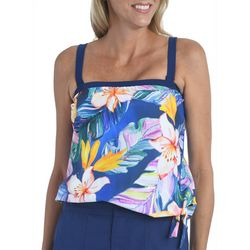 Maxine Of Hollywood Womens Maui Bandeau Tankini Top