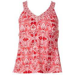 American Beach Womens Camden Tankini Top
