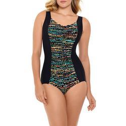 Womens Pop Dots  Mio One Piece Swimsuit