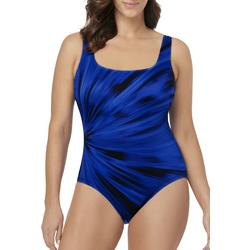 Womens Coral Shine MIO One Piece Swimsuit