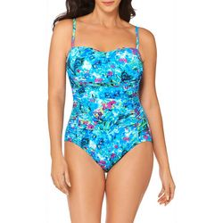 Womens Enchant Shirred MIO One Piece Swimsuit