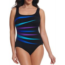 Robby Len Womens Fan Mail One Piece Swimsuit