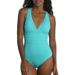 La Blanca Womens Island Goddess One Piece Swimsuit