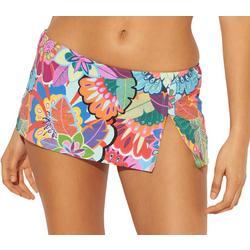 Womens Make It Pop Swim Skirt