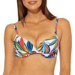 Bleu Rod Beattie Womens Lush Life Underwire Bra Swim Top