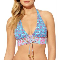 Bleu Rod Beattie Womens St.Tropez Lace Up Bikini Top