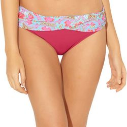 Womens St.Tropez Solid Swim Bottoms