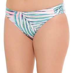 Aqua Couture Womens Palm Swim Bottoms