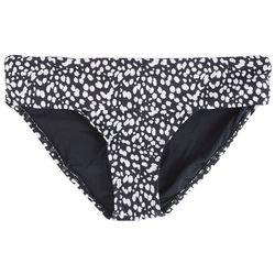 Jantzen Womens Animal Print Foldover Swim Bottom