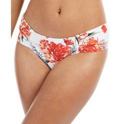 RACHEL ROY Womens Blossom Shirred Tab Bikini Bottoms