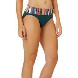 Anne Cole Signature Womens Sand Stripe Bikini Bottoms