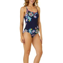 Anne Cole Signature Womens Holding Paisley Swimsuit
