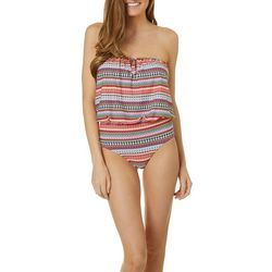 Womens Jet Set Stripe One Piece Swimsuit