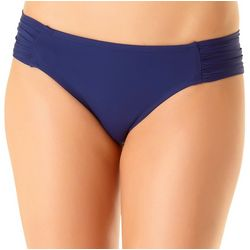 Cole of California Womens Shirred Tab Swim Bottoms