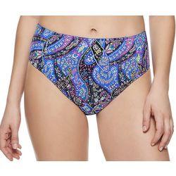 Vera Bradley Womens Reversible Print  High Rise Swim Bottoms