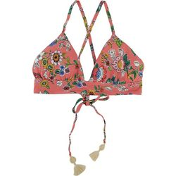 Vera Bradley Womens Reversible Floral Bra Swim Top