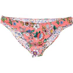 Womens  Reversible Floral Brief Swim Bottoms