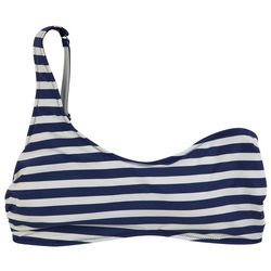 Vera Bradley Womens Cherry Stripe Reversible Swim Top