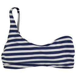 Womens Cherry Stripe Reversible Swim Top