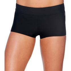 Womens Lifestyle Infinity Solid Short Swim Bottoms