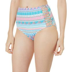 Coco Reef Womens Captivate Caged High Waist Swim