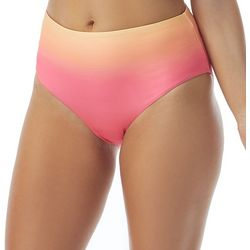 Coco Reef Womens Ombre High Waist Swim Bottoms
