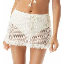 Coco Reef Womens Skirted Crochet Swim Bottoms