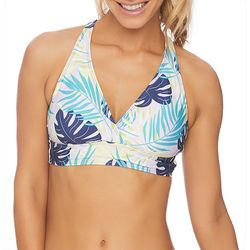 N BY NEXT Womens Tropical Crossover Bralette Swim
