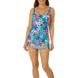 Into the Bleu Womens Beachside Beauty Swimdress