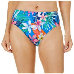 Into the Bleu Womens Beach Side Beauty Swim Bottoms