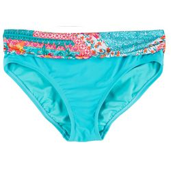Into the Bleu Womens Paradise Mid-Rise Swim Bottoms