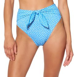 Jessica Simpson Womens On The Spot High Waisted Tie Bottoms