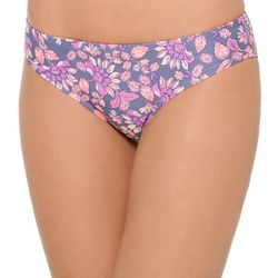 Juniors Flower Power Cheeky Bikini Swim Bottoms