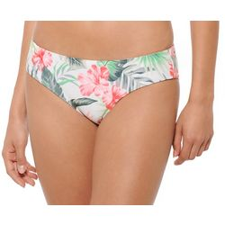 Hot Water Juniors Wild Flower Reversible Swim Bottoms