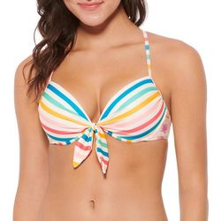 Hot Water Juniors Chroma Push Up Strappy Bikini