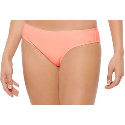 Hot Water Juniors Solid Scruched Back Swim Bottoms