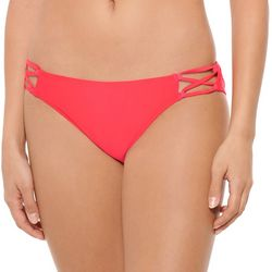 Hot Water Juniors Solid X Side Swim Bottoms