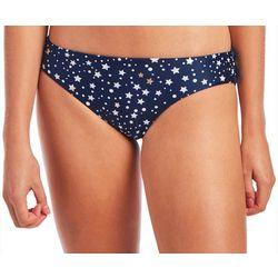 Juniors Starry Night Reversible Swim Bottoms