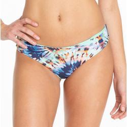 Juniors Tie Dye Reversible Swim Bottoms