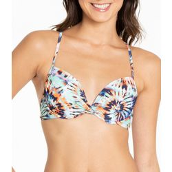 Cyn & Luca Juniors Tie-Dye Swim Top