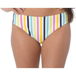 Wallflower Juniors Zara Stripe Bikini Swim Bottoms