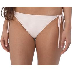 Wallflower Juniors Solid Side Tie Swim Bottoms